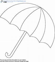 Gratis Malvorlagen Regenschirm Craft Regenschirm Vorlage Muster Regenschirm Vorlage Winkel