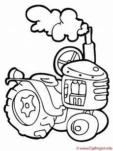 Malvorlagen Bauernhof Traktor Traktor Malbuch Kostenlos