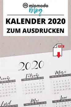 kalender 2020 zum ausdrucken kalender zum ausdrucken