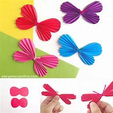 papier schmetterlinge basteln make butterfly great craft ideas for and
