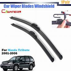 repair windshield wipe control 2001 mazda tribute seat position control cawanerl for mazda tribute 2001 2006 car soft rubber wiper blades vehicle front windscreen