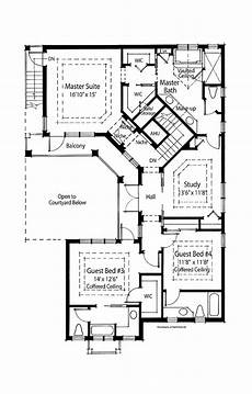 spanish style house plans with central courtyard spanish style house plans with courtyard u shaped floor