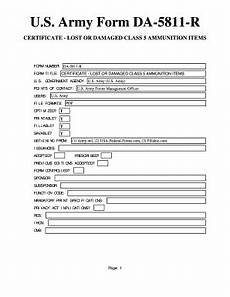 fillable online u s army form da 5811 r usa federal