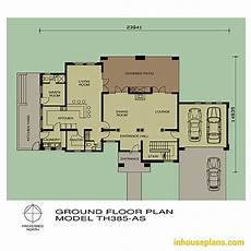thatch house plans 3 bedroom thatch roof house plan th385as inhouseplans com