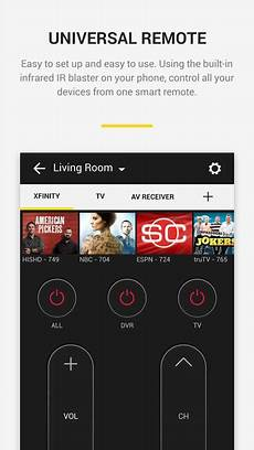 universal smart home app peel universal smart tv remote for android apk