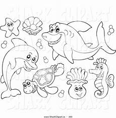 sea animals coloring pages 17500 coloring pages clipart clipart panda free clipart images