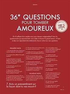 36 Questions 224 Poser Lors Du Premier Rendez Vous Pour