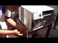 mantenimiento aire acondicionado de ventana youtube