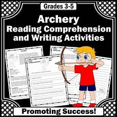summer sports worksheets 15878 archery summer sports reading comprehension worksheets by promoting success