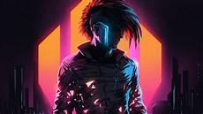 Neon Retro Cyberpunk Wallpaper by Klayton Scandroid Neon Cyberpunk Cityscape Digital