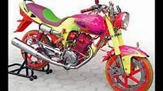 Modifikasi Motor Megapro Lama by Cah Gagah Modifikasi Motor Honda Megapro Lama Airbrush