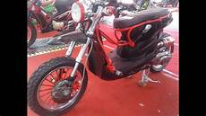 Modifikasi Custom by Modifikasi Motor Matic Unik Honda Beat Custom
