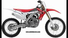 evolution of honda cr f 250 from 2004 to 2014