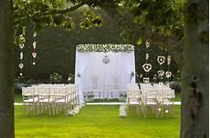 outdoor wedding ceremony garden wedding gaynes park