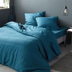 linge de lit en bleu figuerolles vence linge de