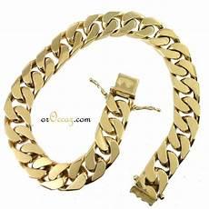bijoux d occasion oroccaz bracelet massif en or 750 1000