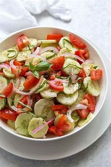 cucumber tomato salad the blond cook