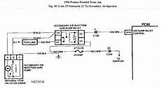 1994 firebird wiring diagram 1994 pontiac trans am cooling fans running and ses light on