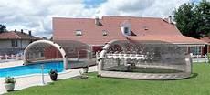 abri de piscine gonflable brise vue bois abri piscine de