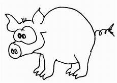 Lustige Schweine Ausmalbilder Schweinchen Wuschels Malvorlagen