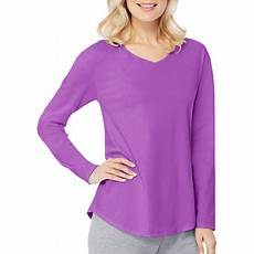 hanes s sleeve v neck t shirt 2 pack walmart