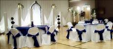 awesome light blue and silver wedding decorations