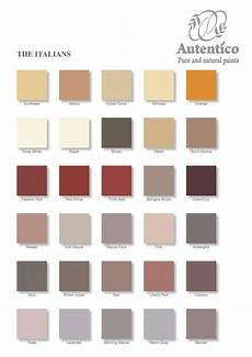 the quot italians quot colour chart from autentico chalk paint you can shop with us craftynest co