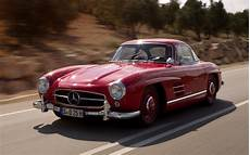 mercedes sl 300 crushed mercedes destroys 300 sl gullwing copy