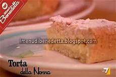 torta della nonna di benedetta ricette di dolci e torte ricetta torta della nonna con ricotta
