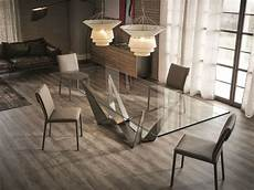 pieds de table design glass dining table skorpio by cattelan italia 2 475 00