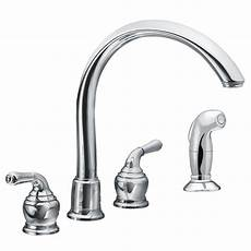 moen two handle kitchen faucet repair faucet 7786 in chrome by moen