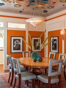 25 trendy dining rooms with spunky orange 25 trendy dining rooms with spunky orange orange dining room dining room blue dining room paint