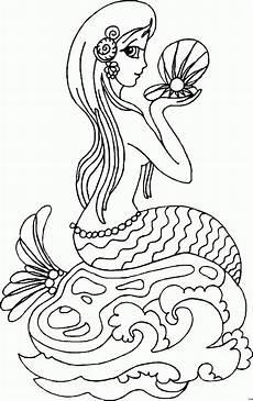 Malvorlage Meerjungfrau Meerjungfrau Ausmalbild Malvorlage Comics With