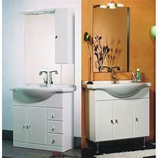 mobili bagno economici mobile bagno cleo cm 85 bianco bh