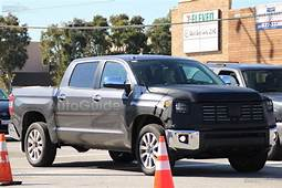 2018 Toyota Tundra Spied Again Showing New Front End