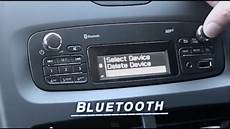 How To Pair Bluetooth Phones To Car Radios Renault