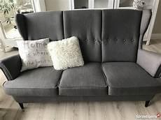 Ikea Strandmon Sofa - ikea strandmon sofa strandmon sofa trzyosobowa ikea sofa