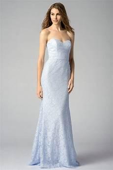 robe cocktail mariage longue en dentelle ciel bleu