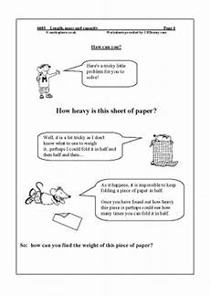 measurement worksheets year 6 1656 length mass and capacity