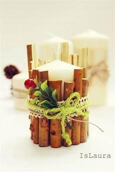 decorazioni natalizie con candele candele centrotavola per natale is