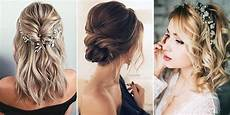 20 medium length wedding hairstyles for 2019 brides emmalovesweddings