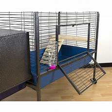 coniglio nano gabbia gabbia per roditori spaziosa ed elegante 134x57x91 5 cm