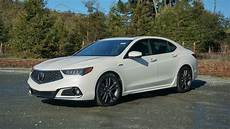 the 2018 acura tlx a spec certainly looks faster roadshow