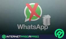 eliminar cuenta de whatsapp gu 237 a paso a paso 2019