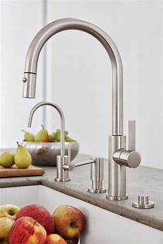 Faucet Placement by California Faucets Is Simplifying Kitchen Design