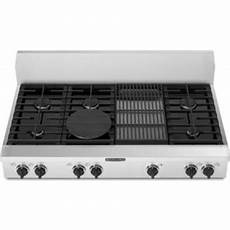 Kitchenaid Cooktop With Grill by Kitchenaid Kgcp482kss 48 Quot Sealed Burner Commercial Style
