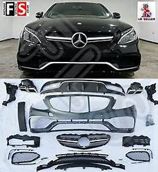 mercedes c63 w205 13 amg kit conversion