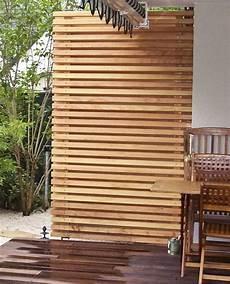 sichtschutz holz balkon diy sichtschutz garten balkon