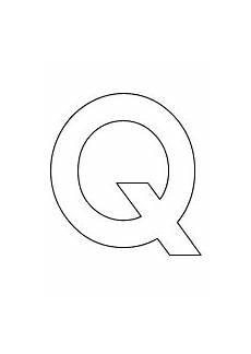 Malvorlagen Buchstaben Und Zahlen Buchstabe Grosses Q Alphabet Buchstaben