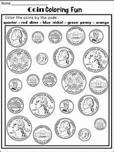 money identification worksheets for kindergarten 2195 money worksheets coin identification worksheets and poster tpt